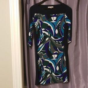 Banana republic xsmall 3/4 sleeve career dress
